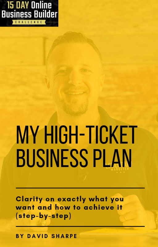 A Customized High-Ticket Business Plan