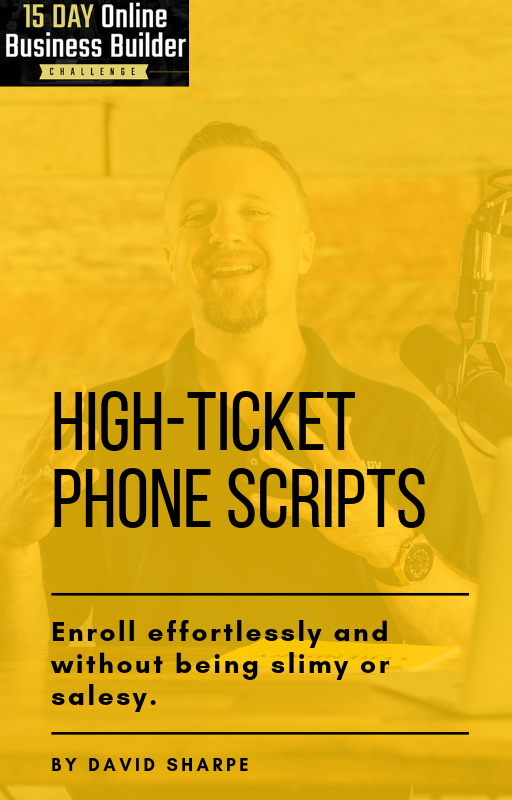 High-Ticket Phone Scripts