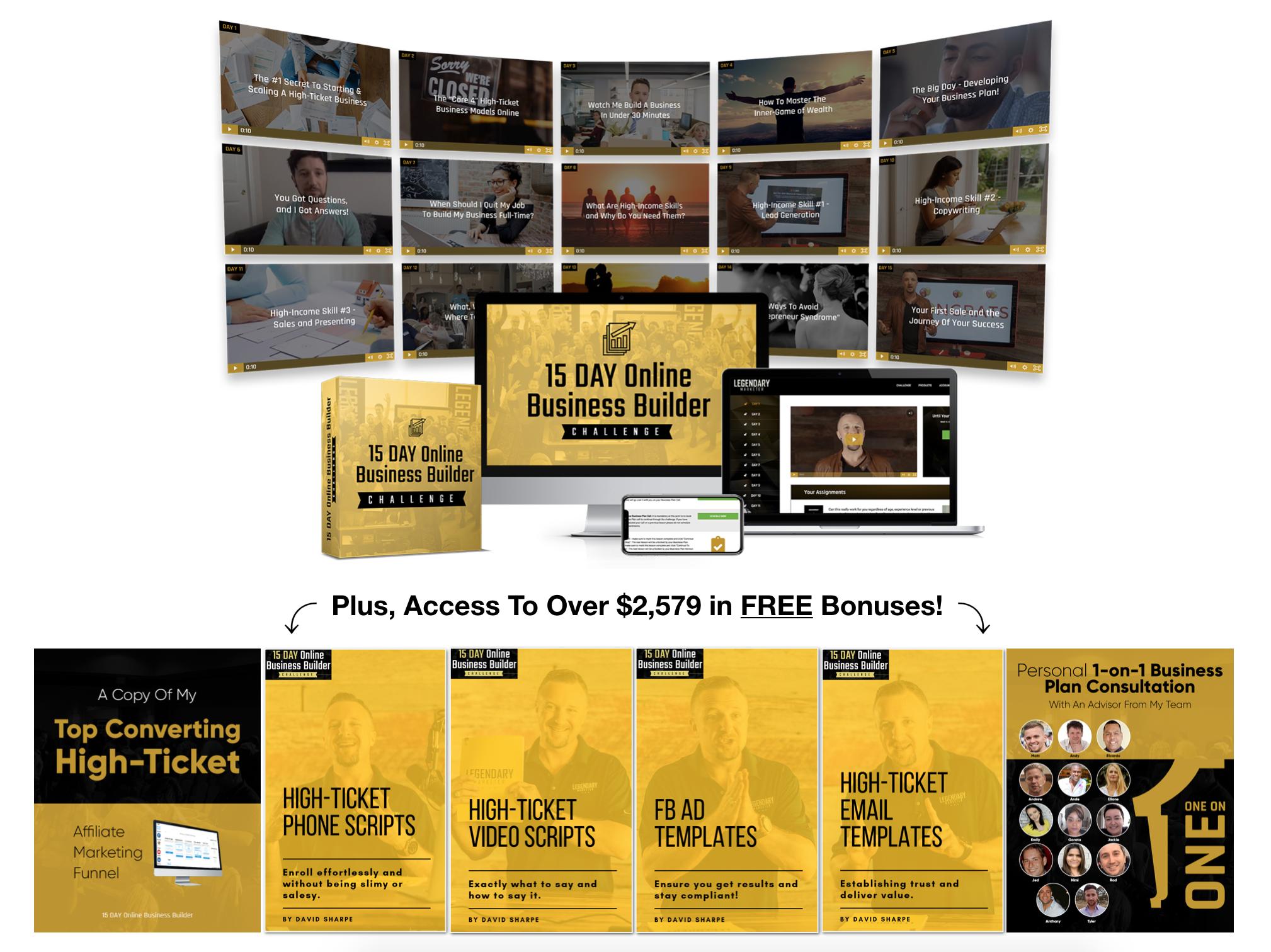 Free Bonuses by Legendary Marketer