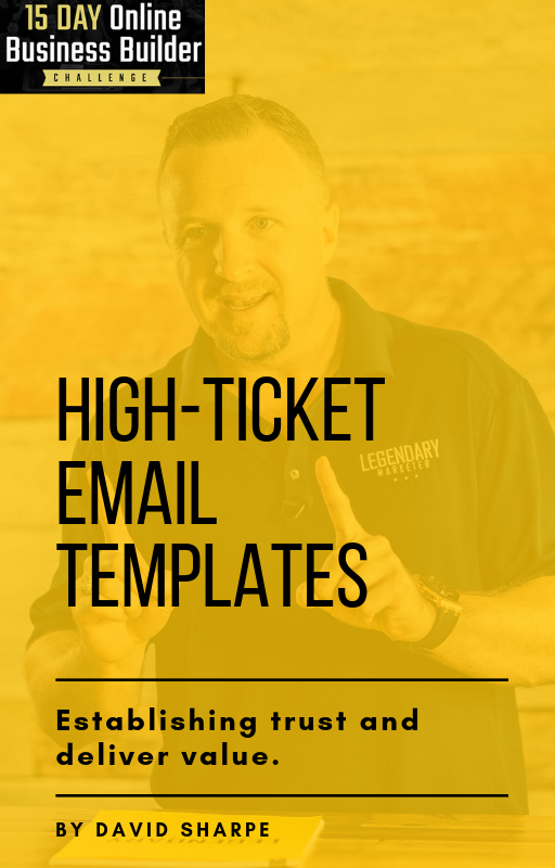 High-Ticket Email Templates