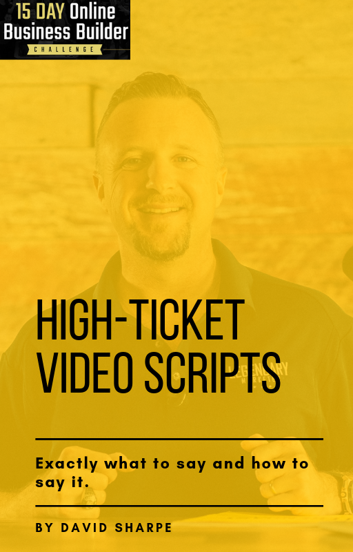 High-Ticket Video Scripts